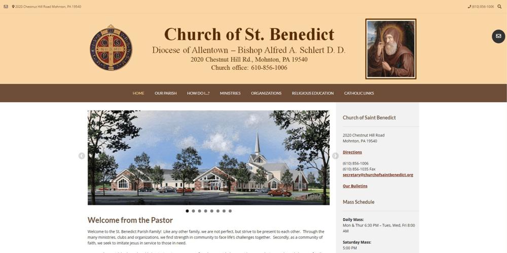 Church of Saint Benedict - Mohnton, PA
