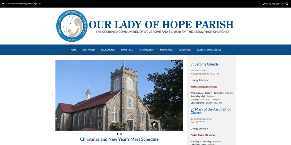 Our Lady of Hope Parish - Long Branch, NJ