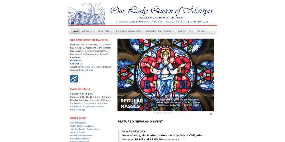 ourladyqueenofmartyrs-org