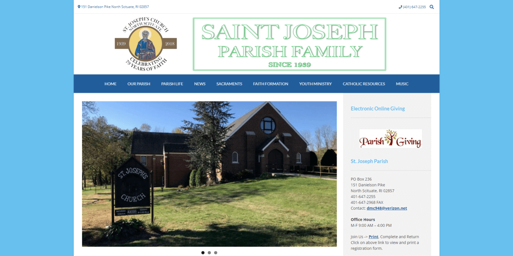 Saint Joseph Parish - North Scituate, RI