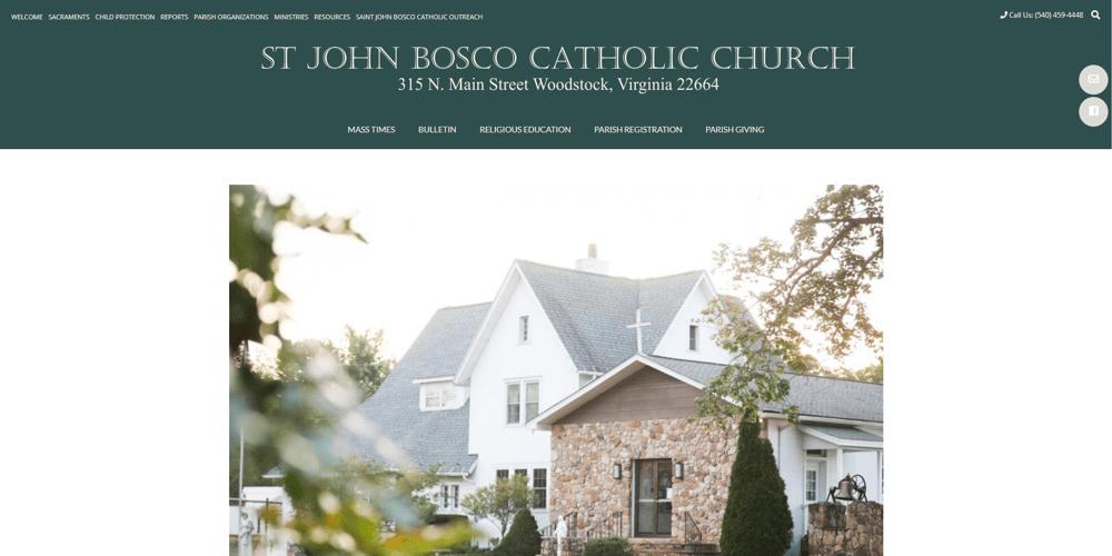 Saint John Bosco - Woodstock, VA