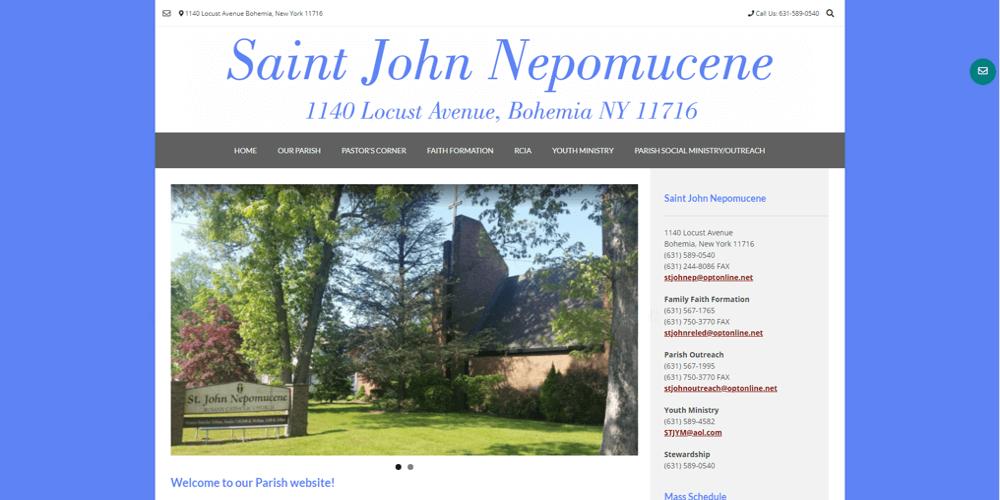 Saint John Nepomucene - Bohemia, NY