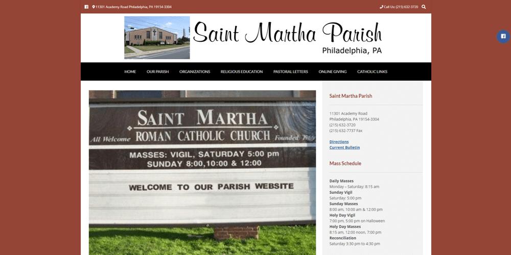 Saint Martha Parish - Philadelphia, PA