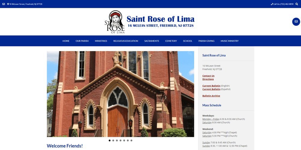 Saint Rose of Lima - Freehold, NJ